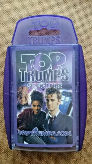 Doctor Who..Top Trumps Specials